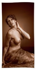 Gorgeous Nude. Hand Towel