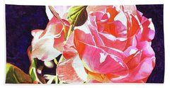 Gorgeous Rose Hand Towel