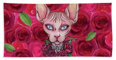 Gorgeous Sphynx Bath Towel