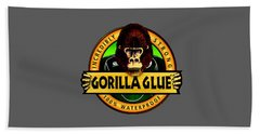Gorilla Glue T-shirt Bath Towel by Herb Strobino