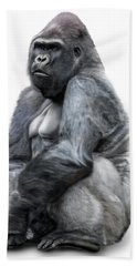 Gorilla Bath Towel