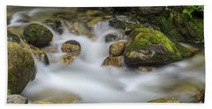 Goritsa Waterfalls Stream-bulgaria Hand Towel