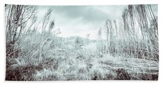 Gormanston Snowscape Hand Towel