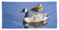Bath Towel featuring the photograph Got Your Back by Donna Walsh