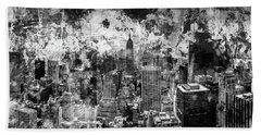 Gotham Castles Hand Towel