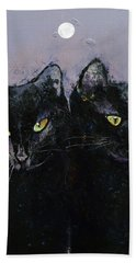 Gothic Cats Hand Towel
