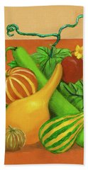 Gourds Orange No Letterings Bath Towel