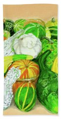 Gourds Seed Packet No Lettering Bath Towel