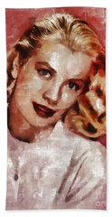 Grace Kelly, Actress And Princess Hand Towel