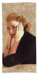 Grace Kelly, Hollywood Legend Hand Towel