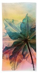 Hand Towel featuring the digital art Gracefulness by Klara Acel