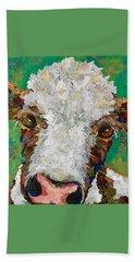 Gracies Cow Hand Towel