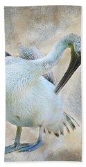 Graciously Pelican Bath Towel