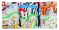 Graffiti 2 Bath Towel