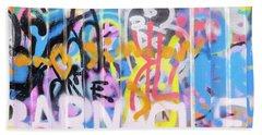 Graffiti 3 Bath Towel