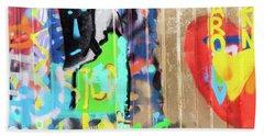 Graffiti 5 Bath Towel