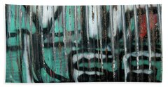 Graffiti Abstract 2 Bath Towel