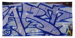 Graffiti Art-art Bath Towel