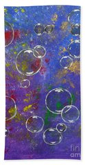 Graffiti Bubbles Hand Towel