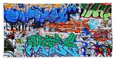 Graffiti Bath Towel