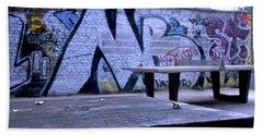 Graffiti Table Hand Towel