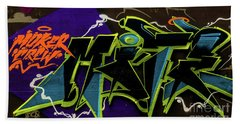 Graffiti_18 Hand Towel