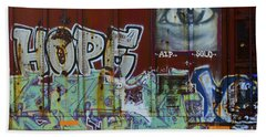 Grafitti Art Riding The Rails 6 Hand Towel