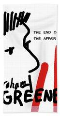 Graham Greene End Of Affair  Bath Towel