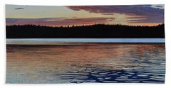 Hand Towel featuring the painting Graham Lake by Kenneth M Kirsch
