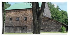 Grammie's Barn Through The Trees Hand Towel