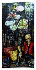 Grand Bazaar.the Cave Of Treasures Bath Towel by Anna Duyunova