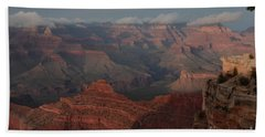 Hand Towel featuring the photograph Grand Canyon 1 by Debby Pueschel