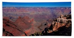 Hand Towel featuring the photograph Grand Canyon 1 by Donna Corless