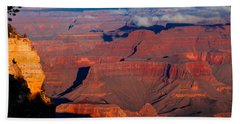 Hand Towel featuring the photograph Grand Canyon 32 by Donna Corless