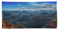 Hand Towel featuring the photograph Grand Canyon 6 by Phil Abrams
