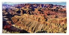 Grand Canyon Afternoon At Lipan Point Hand Towel
