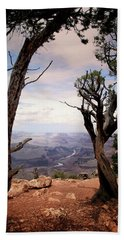 Hand Towel featuring the photograph Grand Canyon, Az by James Bethanis