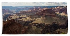 Bath Towel featuring the photograph Grand Canyon by Jennifer Ancker