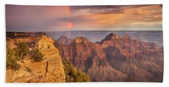 Grand Canyon North Rim Rainbow Bath Towel