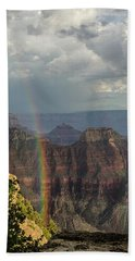 Grand Canyon Rainbow Bath Towel