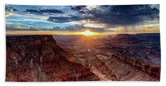 Grand Canyon Sunburst Bath Towel