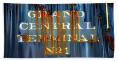 Bath Towel featuring the photograph Grand Central Terminal No 1 by Karol Livote