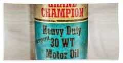 Grand Champion Motor Oil Bath Towel