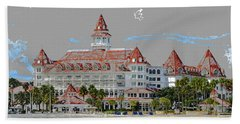 Grand Floridian In Summer Hand Towel