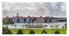 Grand Floridian Resort Disney World Pm Hand Towel