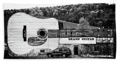 Grand Guitar Bath Towel