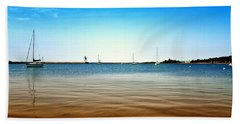 Grand Marais Harbor Hand Towel