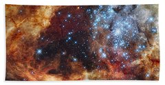 Grand Star Forming - A  Stellar Nursery Bath Towel