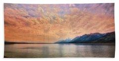 Grand Teton National Park - Jenny Lake Bath Towel