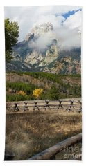 Grand Teton National Park, Wyoming Bath Towel